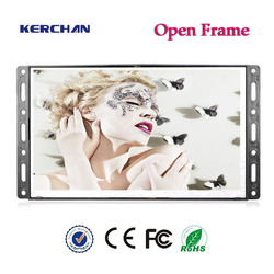 OEM best cheap open frame optional commercial lcd ad player advertising danglers