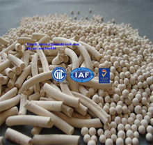 Molecular Sieve 4A is suitable for the drying of gases (e. g: natural gas, petrol gas)