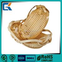 wholesale cheap unique design wicker peanut storage basket