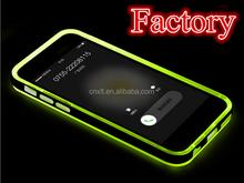 Fashion Flashing LED Mobile Phone Plastic soft Case for iphone 5 5s