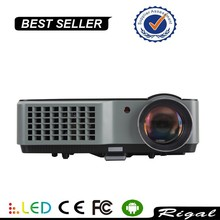 RD801B Led Projector Home Theater Projector For Theater Office Meeting Education AdvertisementTablet PC KTV Video Game Beamer