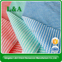 Spunlace Nonwoven Fabric With Small Pearl Flush Easily