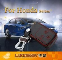 second generation car key case for honda civic 2012 wallet holder remote key cover