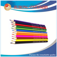 7 inch high quality 12 colored pencils