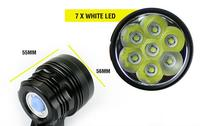 2015 Wholesale battery powered led torch rechargeable bike light led torch with low price