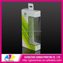 customized retail packaging for cell phone accessories, hanging retail packaging boxes