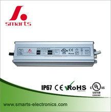 High power 24v 80w waterproof LED light driver Constant Voltage power supply with ce ul listed