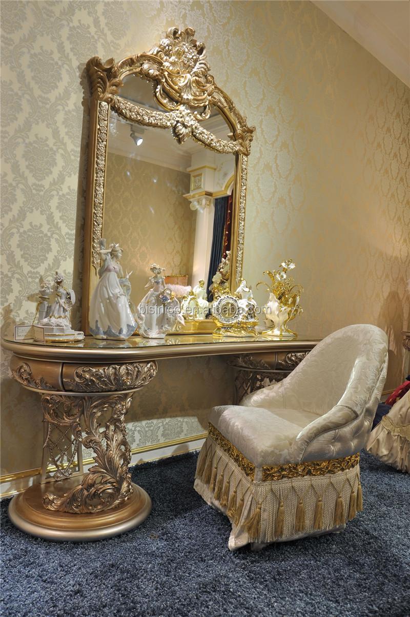 Italienische möbel eitelkeit frisiertisch spiegel und stuhl ...