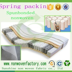 Nonwoven fabric used for Mattress spring pocket