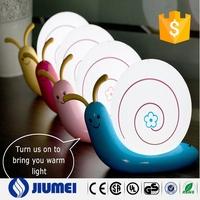 Children Bedroom Snail Animal LED Night Light Lamp Fairy Tale living Room For Baby Kids Birthday USB Cute Lovely Christmas Gift