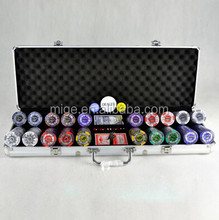 Casino Poker Chip Sets Fancy Poker Chip Set 500 (KL160)
