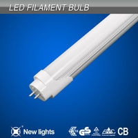 10w aluminum led tube china glass beam angel 180 Instant 100% light color temperature 3000-6000k asian red tube