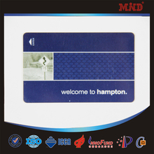 MDC60 Fashion and fancy double sided pvc business cards Key Style/Shape transparent die cut biz card