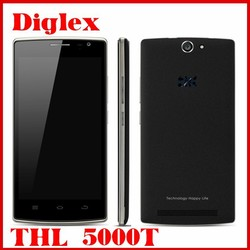 2015 New Arrival THL 5000T Smartphone 5 Inch MTK6592M Octa Core Android 4.4 Mobile Phone 1GB RAM 8GB ROM 13MP Dual Sim 3G Phone