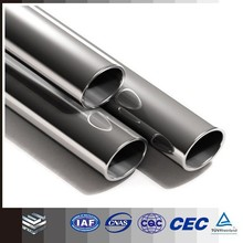 micro 316 stainless steel/stainless steel round tube for bike exhaust system