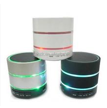 Cheap S09 Mini Portable LED light Bluetooth Speaker support FM, TF card, Handsfree etc