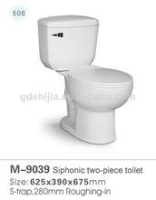 baratos 9039 sanitaria ware sifónicas dos piezas de baño