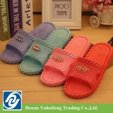 2015 de alta qualidade antiderrapante Colorized das mulheres chinelos