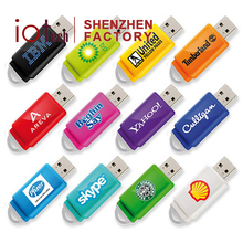 OEM Shenzhen Factory Portable Custom Label USB Flash Drives with Fast Delivery