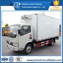 Dongfeng 4 x 2 б thermo king холодильник с морозильной камерой грузовик, холодильная ван и грузовик в дубае