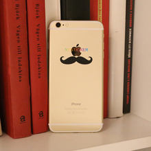 Wholesale Unique Mobile Phone Skins Black Vinyl Decals for iPhone6 Plus Sticker Skin iP6-B&W (27)