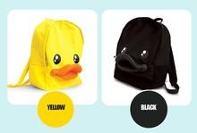 Yiwu factory custom cute duck little kids backpack
