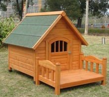 Factory best selling outdoor wooden pet cage