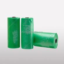 HDPE plastic pet waste bag biodegradable dog poop roll bag