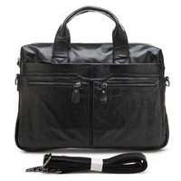 Online Wholesale Fashionable Italian Leather Handbag For Men # 7122A