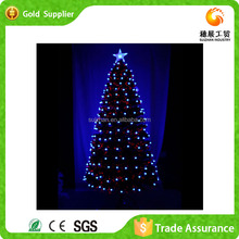 High Quality Colorful Christmas Outdoor Fiber-Optic Christmas Tree