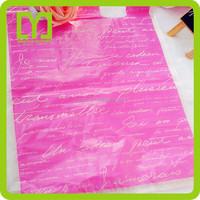 2015 new super quality custom cheap plastic bag for shopping