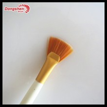 professional makeup fan brush facial masks Pro Advanced Cosmetic Facial Mask Brush Professional Makeup Tool