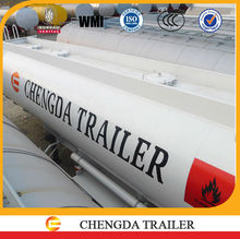 2015 Chinese 3 Axles 35000L Oil Fuel Tank Trailer Specification 9000 Garlon