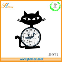cheap plastic quartz kids room wall clock for gift decoration