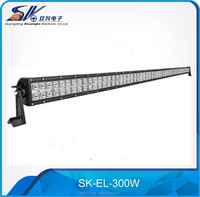 12v 51.6inch 300w 4x4 accessories waterproof offroad led light bar