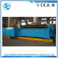 sw11xb thickness 6mm SS sheet cone metal sheet roller rolling machine factory