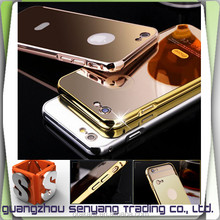 2016 Mirror Mobile Phone Case for iphone 6,Aluminum Bumper Case for iphone 6 Plus