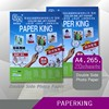 2015 double side glossy quanlity A4* 220gsm photo paper with best price/guangzhou manufacturer
