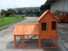 wood rabbit hutch