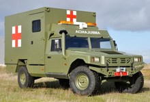 Military ambulance Life support Multiple injured transport