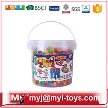 Direct selling plastic toys diy magic bead amusement park ET06A1