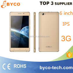 electronics manufacturing company/cheap free new 6 inch smart phone/MTK mobile phone