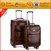 Hot sale high quality PU travel luggage
