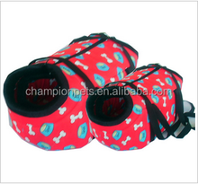 bone pattern travel pet carriers bags