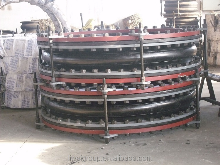 GJQ(X)-DF-II DN1200 PN10 single ball expansion rubber joints