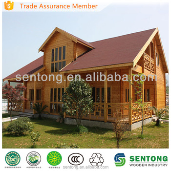 Unique Design Two Storey Wooden Living House Buy Wooden
