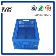 With Hole Plastic Foldable Storage Container