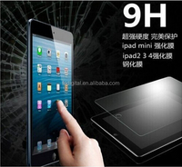 Wholesale full size accessories anti-explosion 9H tempered glass screen protector for iPad Mini/Mini 3