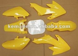 NEW Yellow Plastic Kit CRF50 XR50 CRF XR 50 SDG SSR Pro Pit Dirt Bikes