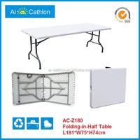 6ft rectangular portable computer desk picnic folding table